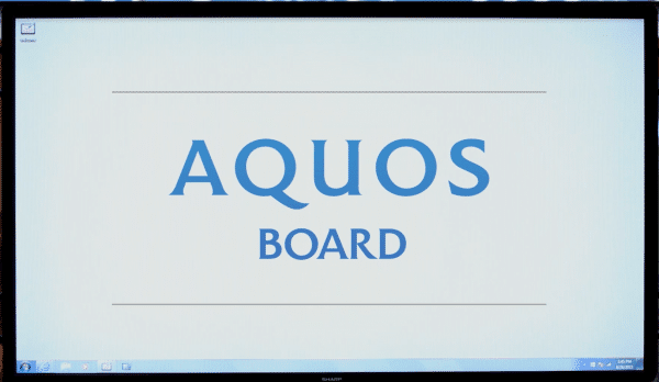 Aquos-board-video
