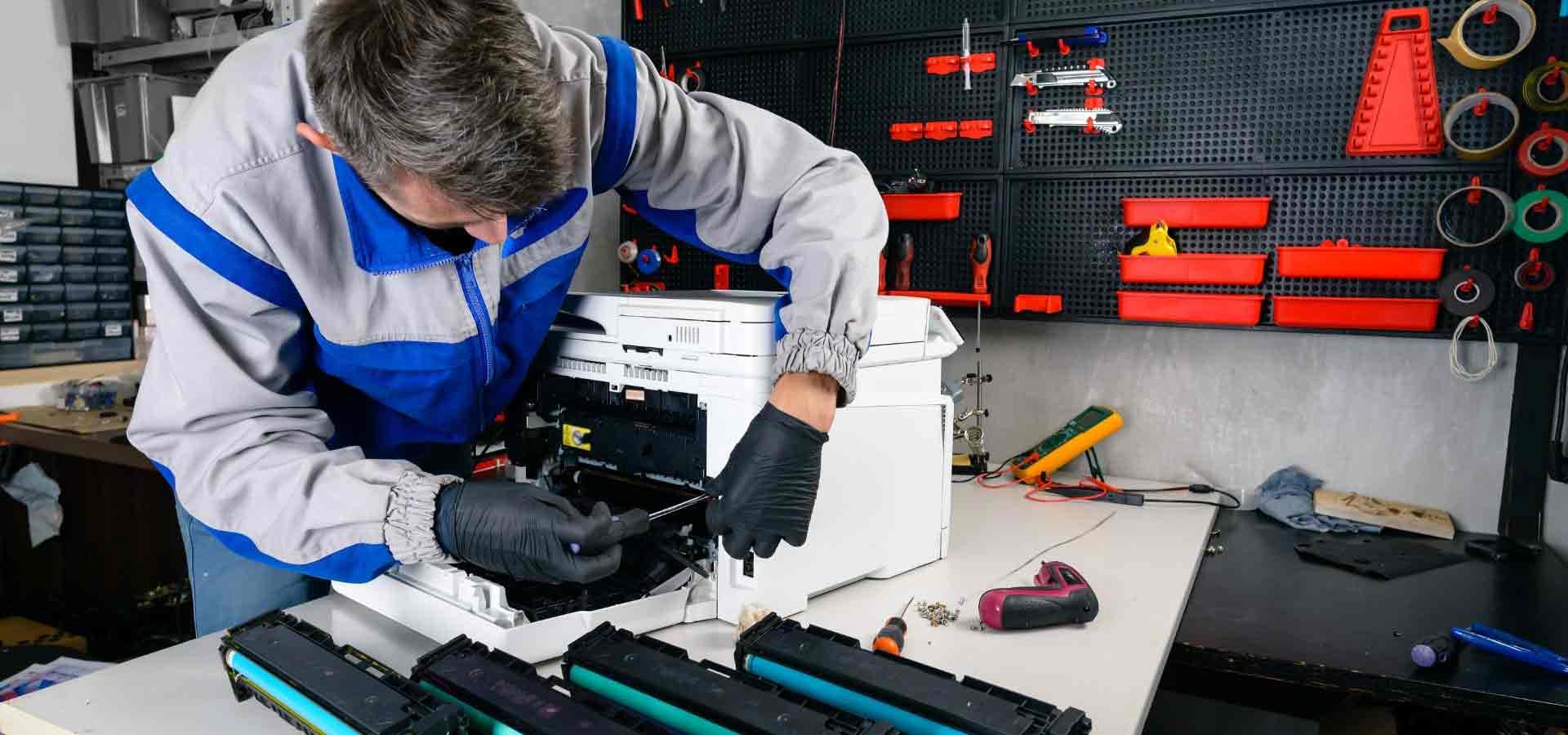 Reparing printer