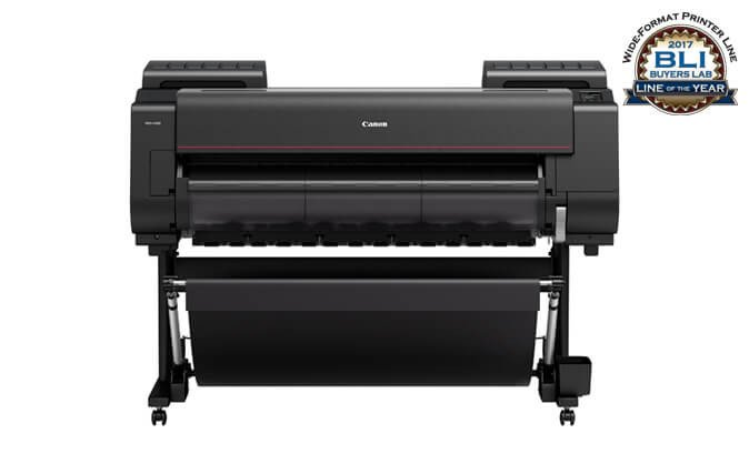 An imagePROGRAF PRO-4000 Different From The Canon Series Plotter