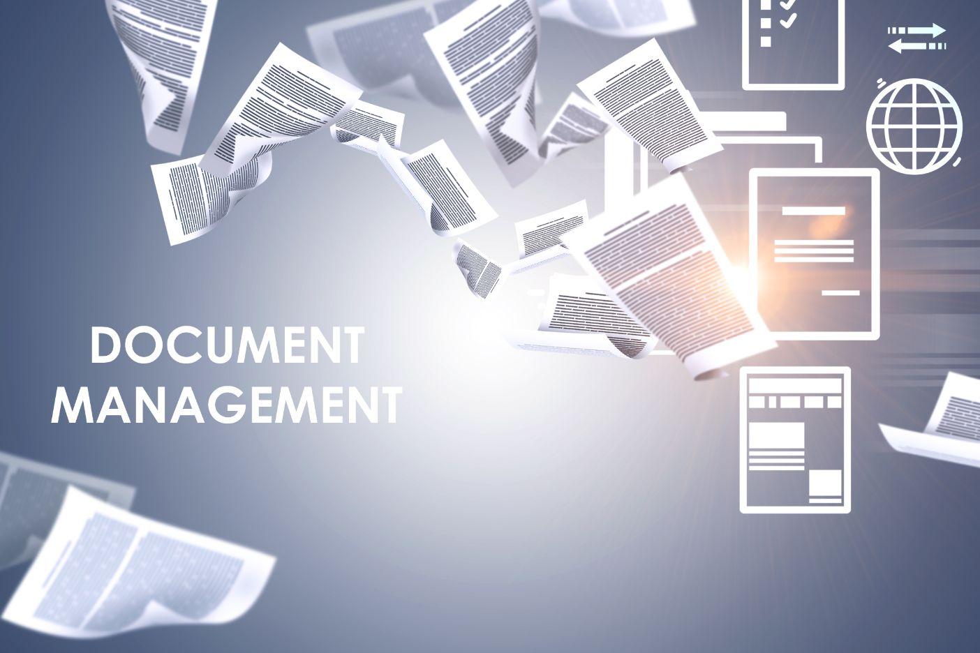 modern business document